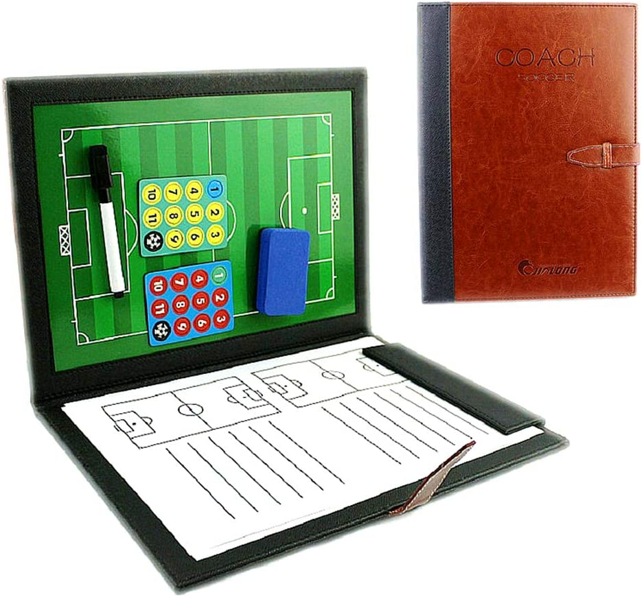 Marqueur LaceDaisy Professional Football//Entra/îneur de Football Tableau magn/étique Strat/égie gagnante Conseil Tableau Tactique avec Magn/étique