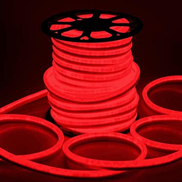 Amazon delight 150ft 110v red flexible led neon rope light delight 150ft 110v red flexible led neon rope light indoor outdoor holiday valentines party decor lighting workwithnaturefo