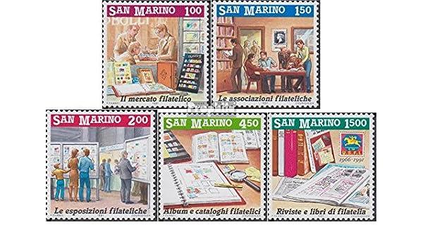 Prophila Collection San Marino 1467-1471 (Completa.edición.) 1991 incentivo el filatelia (Sellos para los coleccionistas) Sello en Sello: Amazon.es: Juguetes y juegos