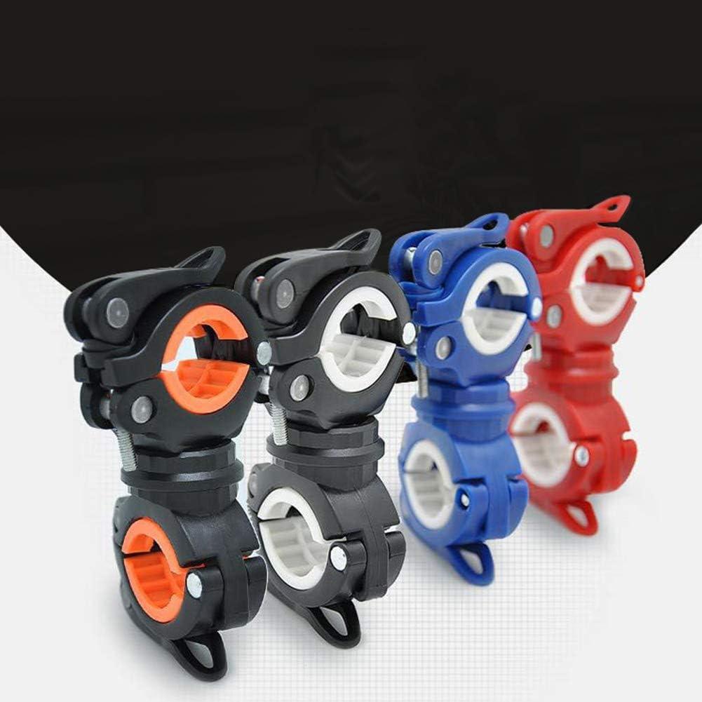 BONNIO 360 /° Rotation Radfahren Licht Halter Fahrrad Taschenlampe Halterung Griff Fahrrad LED Lampenfu/ß