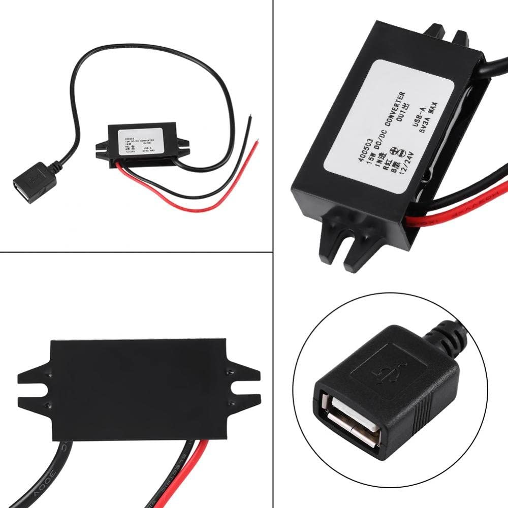 Dc Dc Adapter Fydun Auto Abwärtswandler Regler 12v Und Elektronik