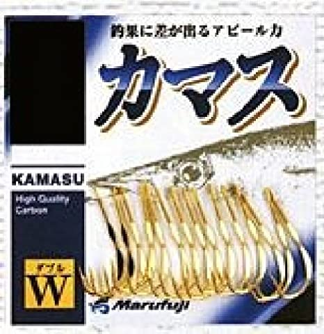 Marufuji(マルフジ)Z-032カマスWフック金針10号釣り針の画像