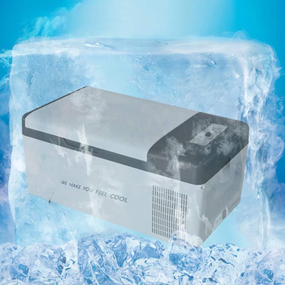 Mini Refrigerador Compresor Coche Refrigerador PortáTil Congelador 15L Congelador 12V / 24V / 220V ProteccióN De Apagado De Enfriamiento RáPido Puede Controlar La Temperatura