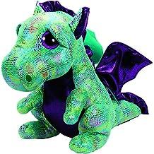 TY Beanie Boos CINDER - Green Dragon LARGE Plush