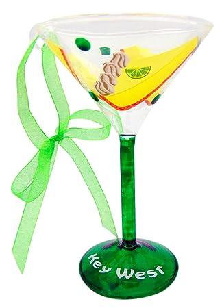 Christmas In Florida Keys.Amazon Com Key Lime Pie Martini Glass Christmas Ornament