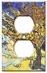 Art Plates - Van Gogh: Mulberry Tree Switch Plate - Outlet Cover