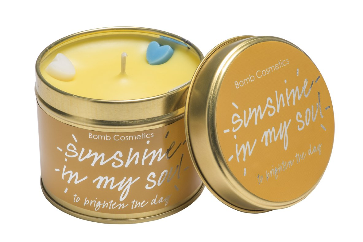 Bomb Cosmetics Sunshine in My Soul Scented Tin Candle