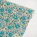 Flower Ocean Blue - Vinyl Self-Adhesive Wallpaper Prepasted Wall stickers Wall Decor