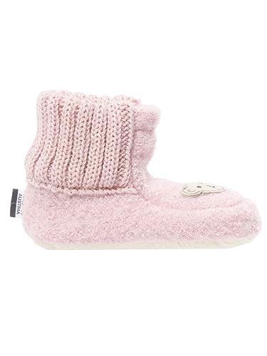 12d1afeee2f569 Steiff Knopf im Ohr Schuhe - Hausschuhe Kinder und Baby pink Bastian   Amazon.de  Schuhe   Handtaschen