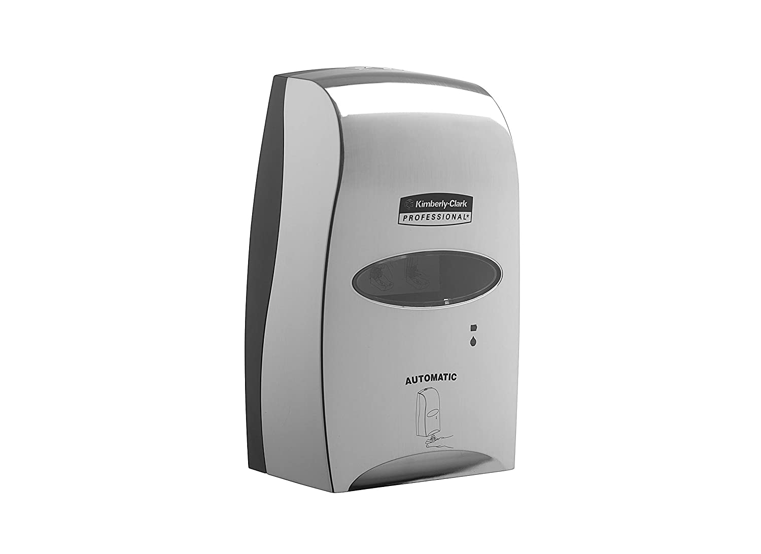 Brushed Metallic 1 x 1 Dispenser Kimberly-Clark Professional 11329 Touch-less Electronic Skin Care Dispenser 1.2 Ltr