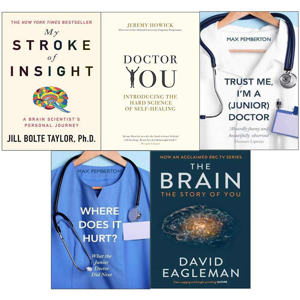 Read Online Brain story of you, my stroke, doctor you, trust me and where does it hurt 5 books collection set ebook
