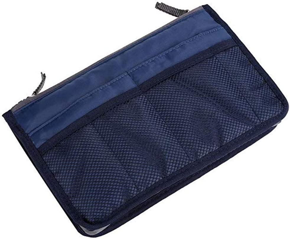Alexsix Purse Organizer Insert Handbag Women Portable Organizer Bag Multifunction Travel Compartment Handbag