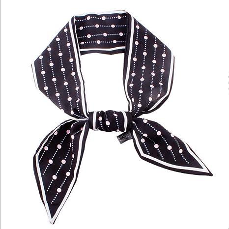 HOUER Polka Dot Corbata Delgada Moda Bufanda pequeña Cinta Bufanda ...