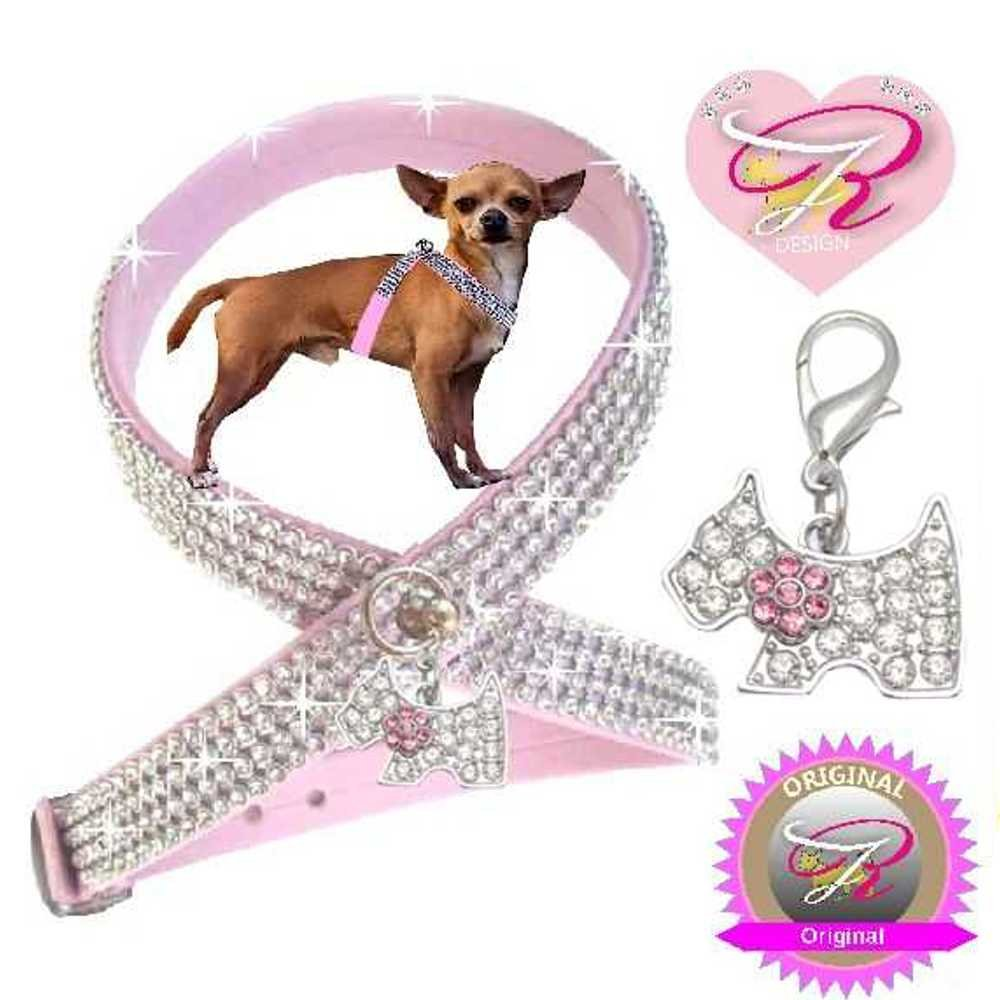 Woof Style S Color Rosa con Perros Charm Chihuahua Perro ...
