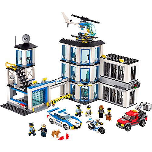 Action City Police Station (LEGO City Police Station 60141 Cool Toy For Kids)