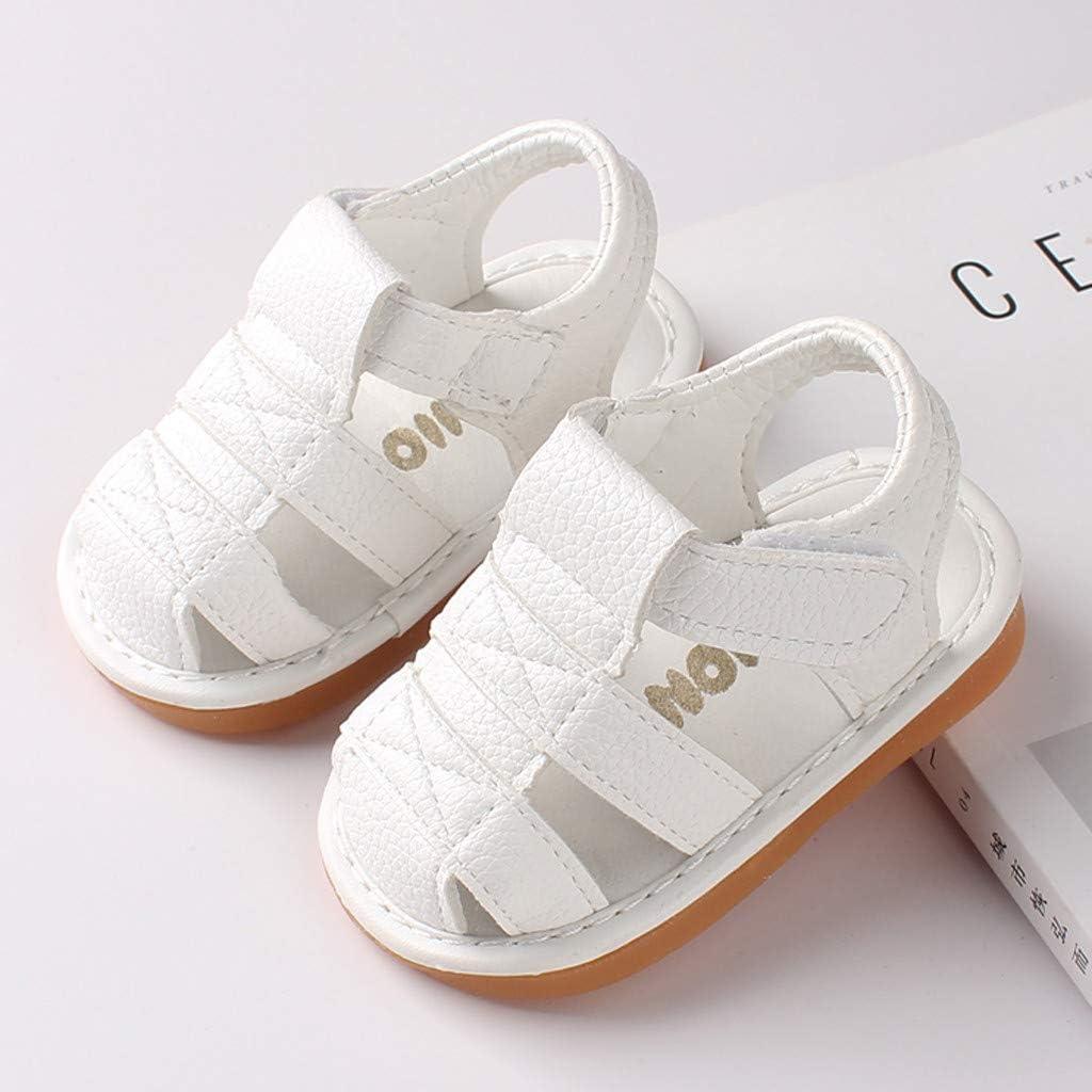 Seringlings Sandalias Bebe Ni/ño Verano Suela Suave Antideslizante Primeros Zapatos para Ni/ños 0-30 Meses Zapatos de Bebe ni/ña ni/ño Recien Nacido
