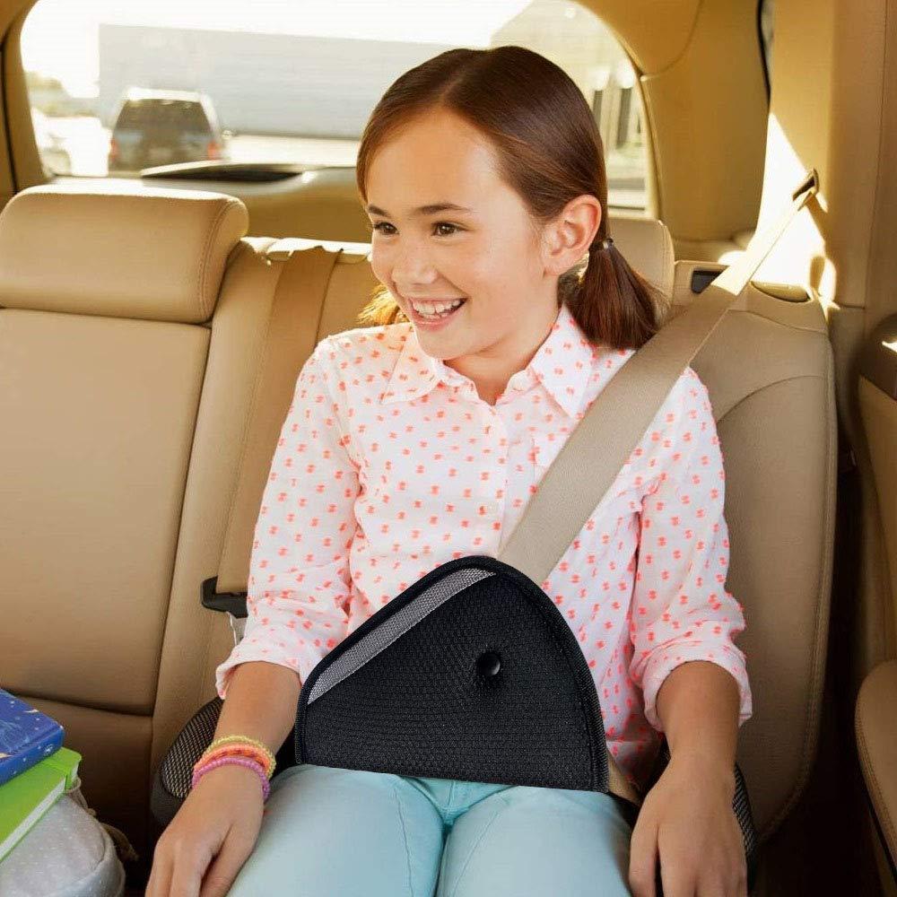 URAQT 3 St/ück Auto Sicherheitsgurt Schulterpolster G/ürtelkissen Schutzkissen und Samtbeutel Gro/ß f/ür mehr Komfort auf der Reise Gurtpolster Auto Erwachsene