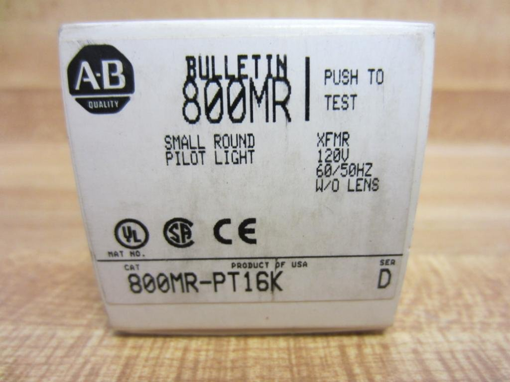 ALLEN BRADLEY 800MR-PT16K SERIES D LIGHT 800MR-PT16K Series D- by Allen-Bradley (Image #2)