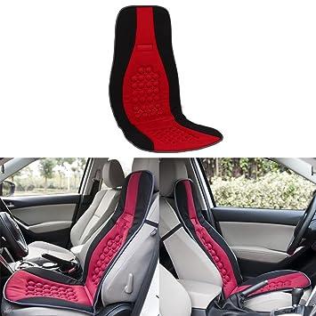 Sedeta Car Vehicle Seat Cushion Magnet Round Bump Design Therapy Massage Function Pad