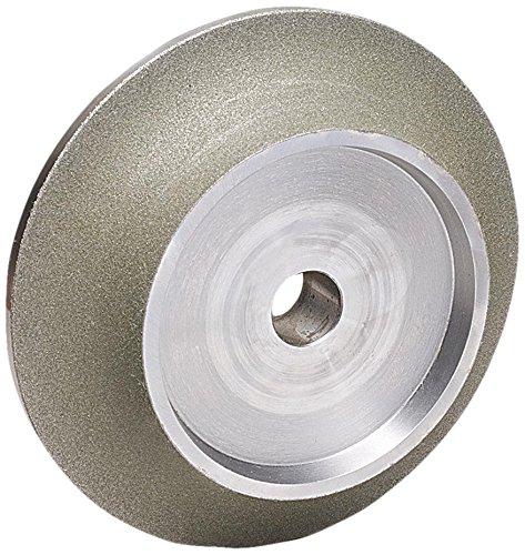 (MK Diamond 166079 140/170 Grit Plated E-Profile Wheel, DX 10mm Bevel)