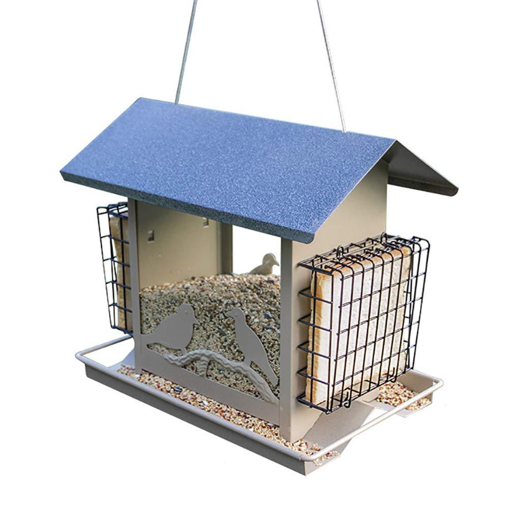 DJLOOKK Mangiatoia per Uccelli, Mangiatoia per Uccelli, Mangiatoie per Uccelli, Stili Vari per Giardino all'aperto