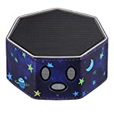 Frienda Noise Machine Protective Case Leather Protective Cover Compatible with LectroFan Sleep Sound Machine (Midnight Blue)
