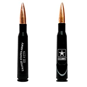 50.Cal Army Bullet Bottle Opener – Previously Fired Army BMG 50 Caliber Real Bullet Casing - Army Soldier Gifts
