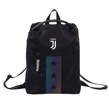 21ac12a65b Zaino Juventus Multy Backpack, Nero, 19 Lt, Flash Effect, Scuola Sport &