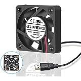 ELUTENG Ventole USB 40 mm Cooler 5V Ventola PC USB Fan Silenziosa Mini USB Fan Raffreddamen per Computer PS4 PS3 Xbox Ventilatore per Case 4cm