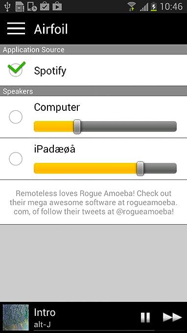 Amazon.com: Remoteless for Spotify (a Spotify Remote Control ...