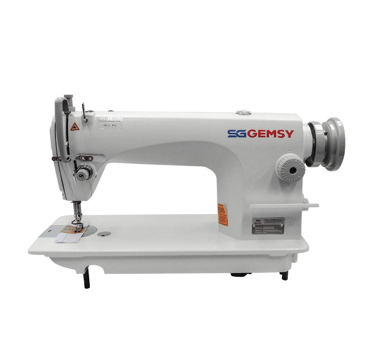 Gemsy Single Needle Industrial Sewing Machine SG8900 Complete Set ...