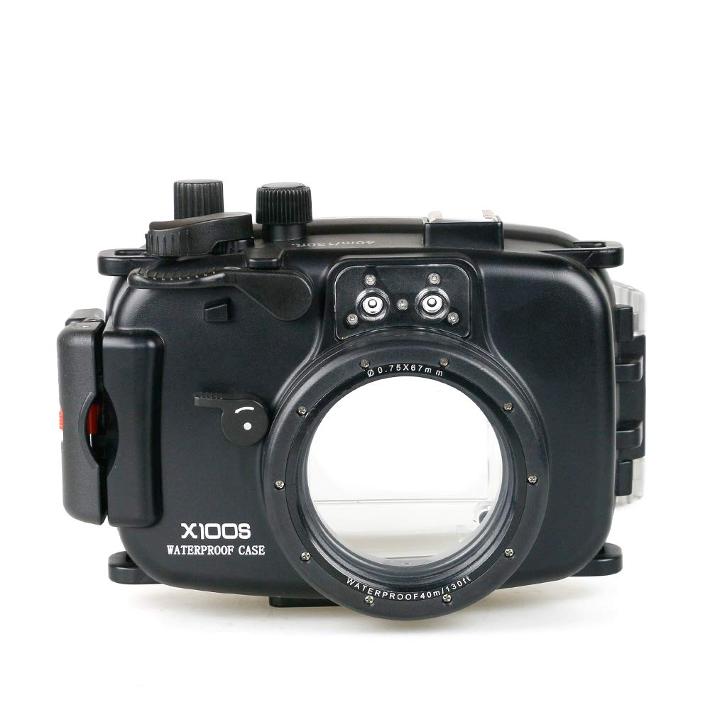Sea frogs for Fujifilm X100S 40m/130ft Underwater Camera Housing by Sea frogs