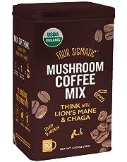 *NEW* LIONS MANE COFFEE with CHAGA 30 Serving Tin BULK