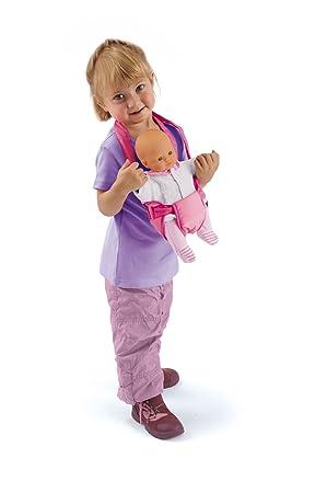 Smoby 024397 - Poupées - Baby Nurse - Accessoire de Nursery - Sac porte bébé 89c3ff9d6d1