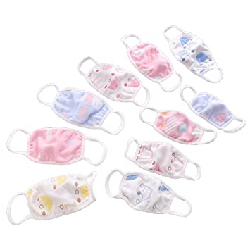 Germs Face Newborn Dust Mouth 3pcs Kids random Antidust And Healifty Against Flu Babies Cotton Allergens Pollen Masks For