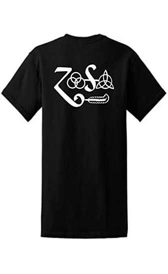 Amazon Led Zeppelin 4 In 1 Runes T Shirt Zoso Sports