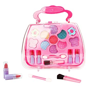 Search For Flights Princess Girls Simulation Dressing Table Makeup Toy Cosmetics Party Performances Dressing Box Set Pretend Play Toys & Hobbies