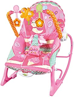 CWLLWC Baby Rocking chair, multi-function lightweight rocking chair electric baby calming Recliner Swing Stool
