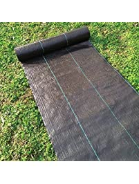 Agfabric Landscape Garden Fabric 10x300ft Heavy Duty PP Woven Weed  Barrier,Soil Erosion Control And