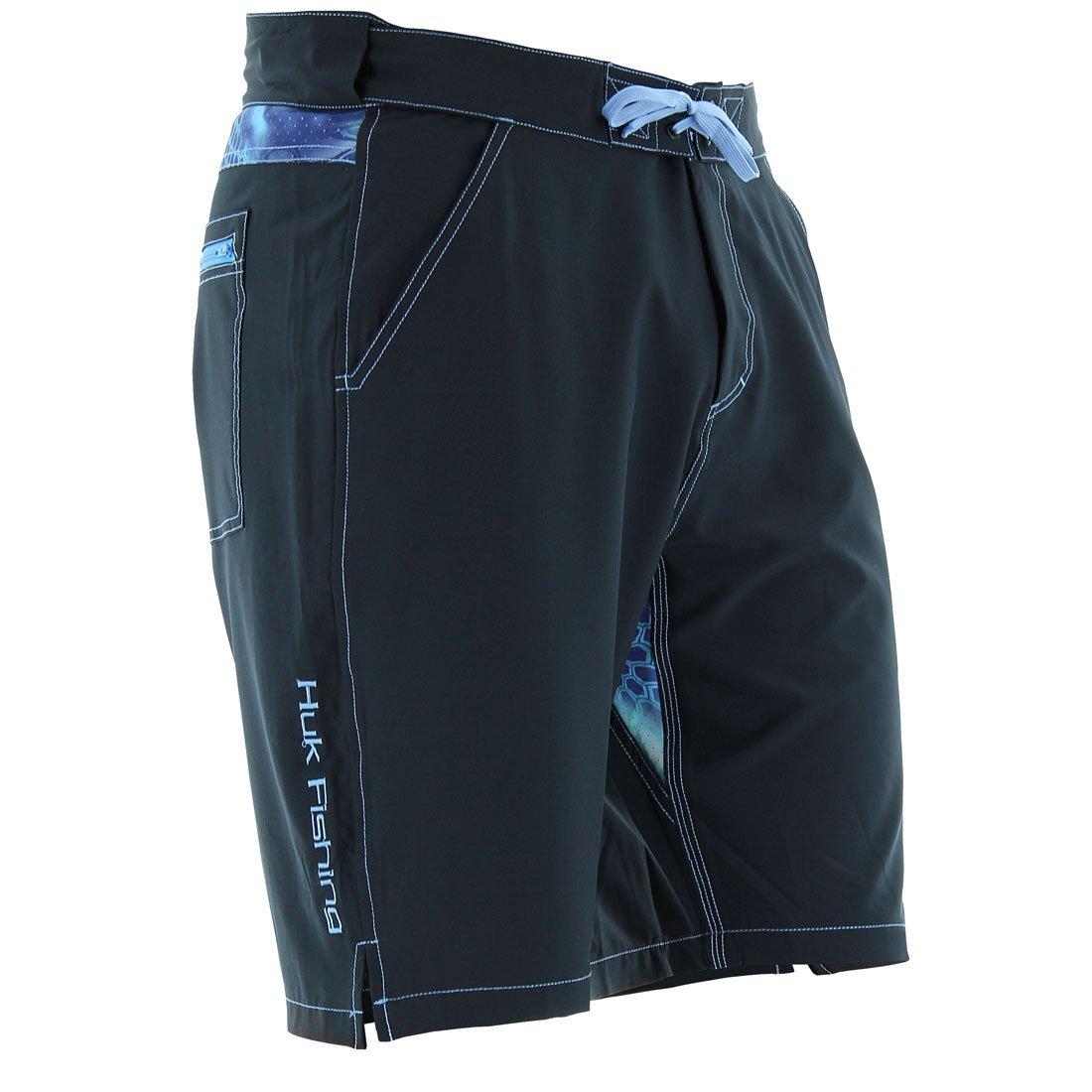 Huk Men's Next Level Board Short, Black, X-Large