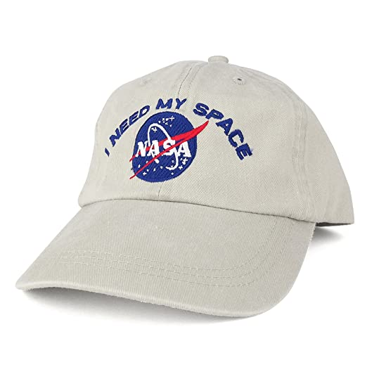 8c26d82a1e5 Amazon.com  AC Racing NASA I Need My Space Embroidered Washed Cotton ...