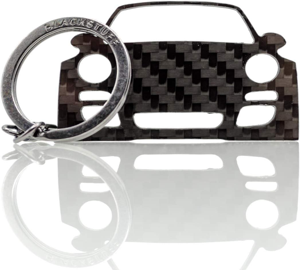 Blackstuff Carbon Karbonfaser Schlüsselanhänger Kompatibel Mit 997 Carrera Targa Turbo 911 2012 2014 Bs 111 Auto