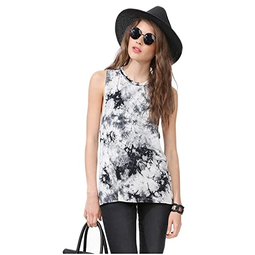59e075c560fd3 Trendy Tank Top Exclusive Printed Sleeveless Backless for Women (Size M)
