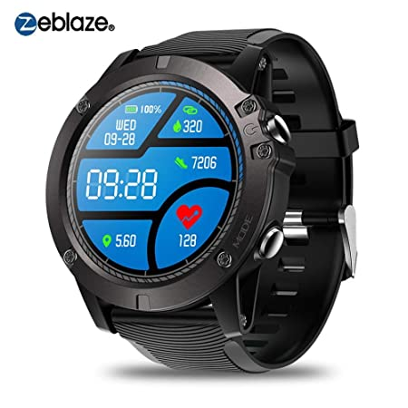 Sroomcla Vibe 3 Pro Sports Tracker , Android iOS Bluetooth Smartwatch , Detección de la frecuencia cardíaca Espera Extra Larga a Prueba de Agua IP67 ...