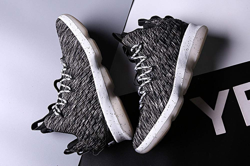 c89dee0d JiYe Zapatillas de Baloncesto para Hombre, Transpirables, de Punto de Cruz:  Amazon.com.mx: Ropa, Zapatos y Accesorios
