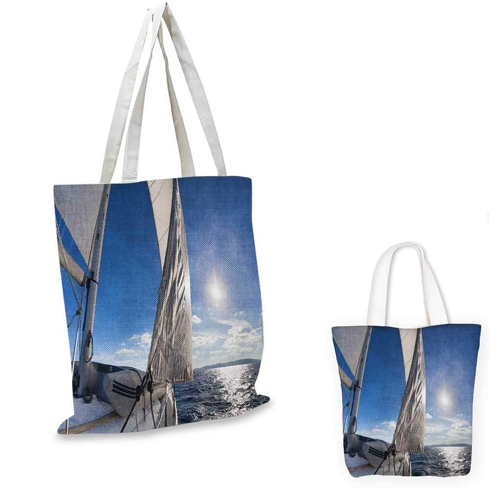 SailboatSailing After a Storm Transportation Colorful Outdoors Hobby CloudscapeBlue Grey Blue White。 14