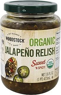 product image for Woodstock Farms - Organic Jalapeno Relish - 16 oz.