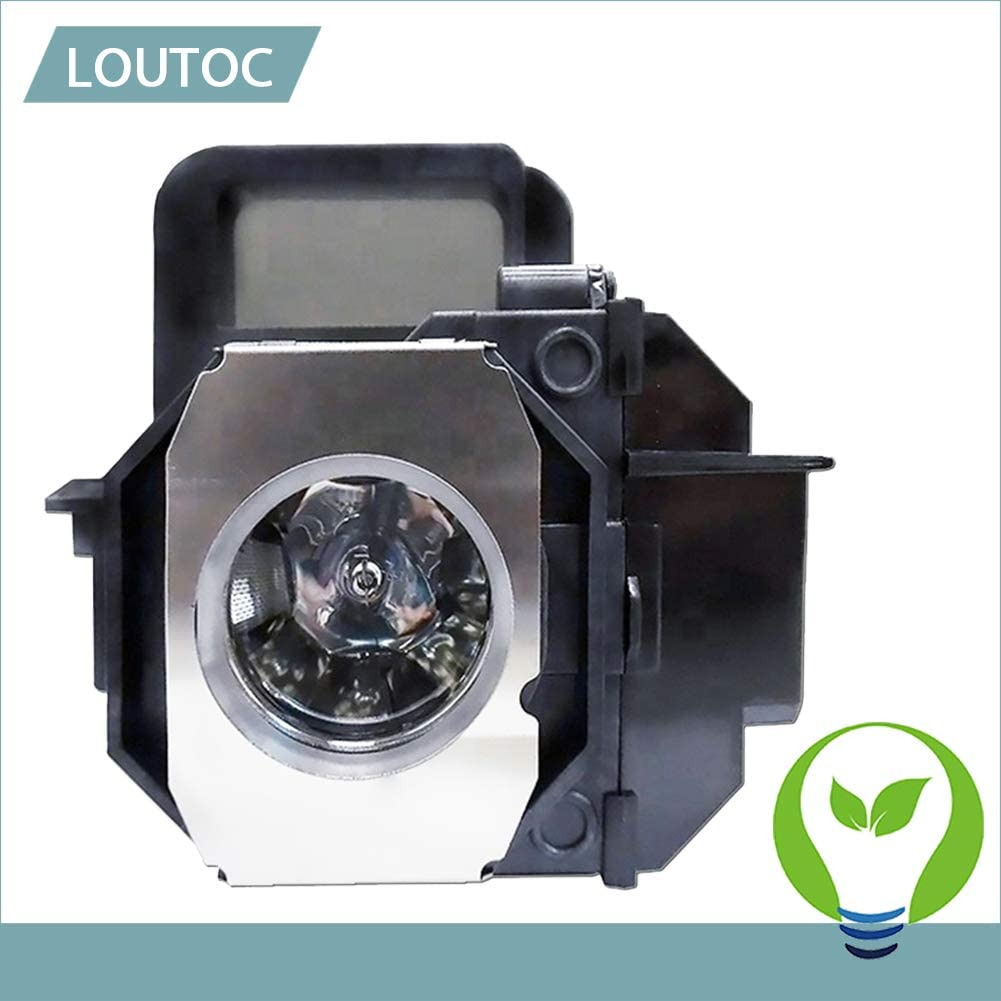 LOUTOC Projector Lamp Bulb V13H010L49 for Epson ELPLP49 PowerLite Home Cinema 8350 8345 8500UB 8700UB 8100 6100 6500UB 7100 7500UB