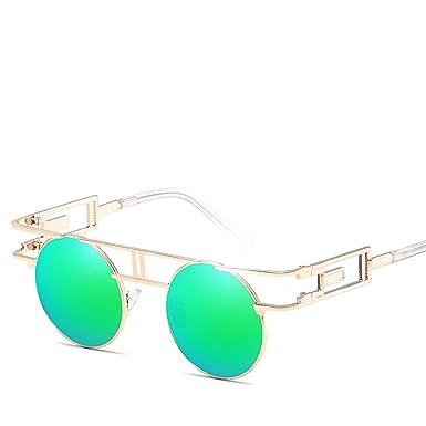 Amazon.com: Gafas de sol retro de estilo europeo y americano ...