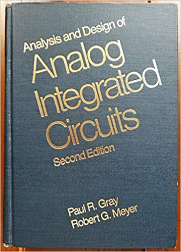 Analog Integrated Circuit Design Book